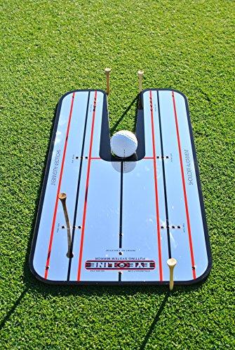 EyeLine Golf Classic Putting Mirror, Large 9.25' x 17.5' - Patented