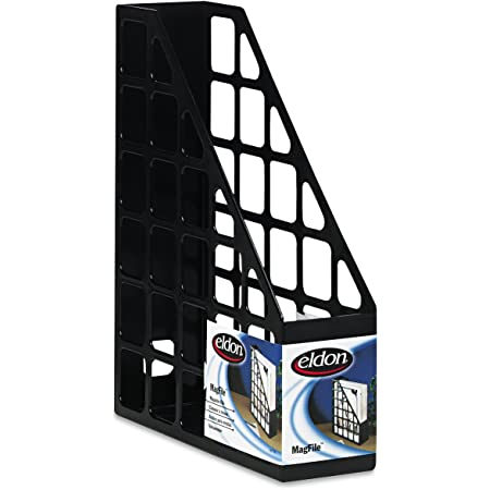 Black Universal 08119 Recycled Plastic Large Magazine File 6 1//4 x 9 1//2 x 11 3//4