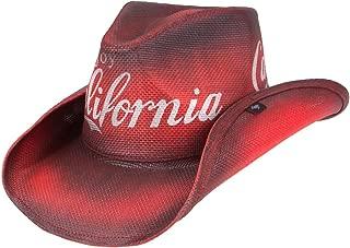 Enjoy California Drifter Cowboy Hat - Red