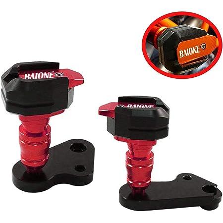 Red Hunter-Bike R1 Frame Slider Aluminum Anti Crash Protector for YAMAHA YZF R1 2009 2010 2011 2012 2013 2014