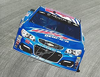 AUTOGRAPHED 2017 Dale Earnhardt Jr. #88 Mountain Dew Racing DEW-S-A PATRIOTIC PAINT SCHEME Monster Energy Cup Series Signed Collectible Picture NASCAR 9X11 Inch Glossy Photo with COA