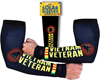 Solar Sleeves Vietnam Veteran Protective Arm Sleeves with UPF 40+