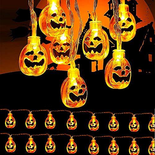 Decoración de Halloween BESTZY Decoracion Jardin Exterior (Calabaza 3 Metros)