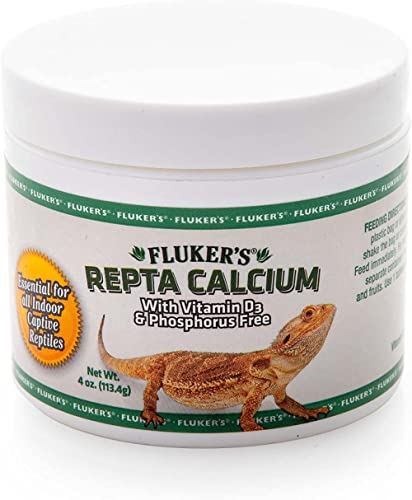 Fluker's Calcium Reptile Supplement with added Vitamin D3