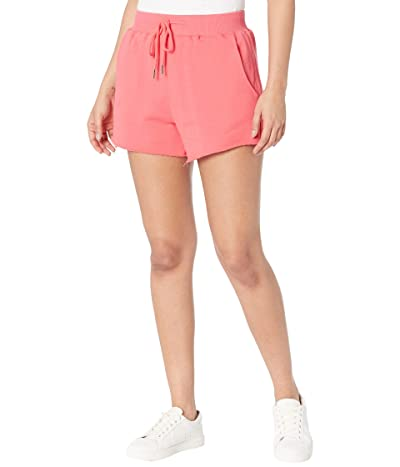 Blank NYC Solid French Terry Shorts with Elastic Waistband