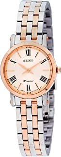 Premier Quartz Movement Silver Dial Ladies Watch SWR028P1