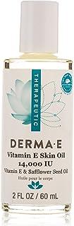 Derma E Safflower Seed Vitamin E 14,000 I.U Skin Oil, 60 ml