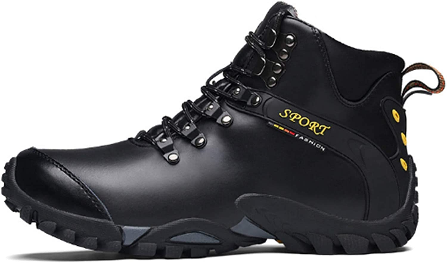 Men's Casual Hiking shoes Outdoor Warm Lining Snow Boots Non-slip Sneakers