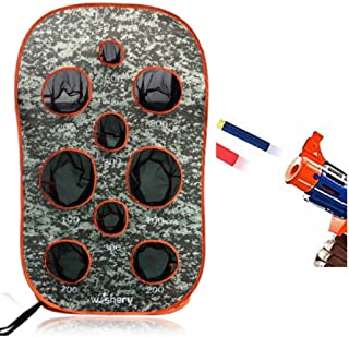 Wishery Nerf Target Compatible with Nerf Guns for Kids Shooting Practice, Nerf War Party