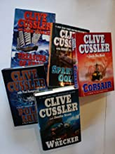 Set of 5 Clive Cussler Dirk Pitt Numa Adventure Thrillers: Flood Tide, Arctic Drift, Valhalla Rising, Atlantis Found, and ...