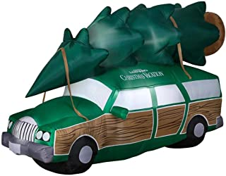 Gemmy Inflatable National Lampoons Christmas Vacation Station Wagon - 8Ft Wide - Outdoor Christmas Decoration