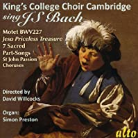 King's College Choir Sings J.S. Bach by King's College Choir Cambridge
