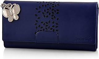 Butterflies Women's Wallet (Blue) (BNS 2394BL)