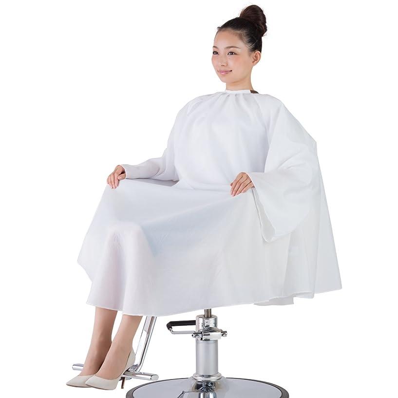 直感必要とするはさみ静電気に負けないカットクロス袖有普通サイズ(日本製)オフシロ