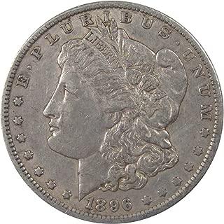 1896 O $1 Morgan Silver Dollar US Coin VF Very Fine