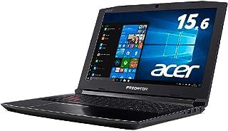 Acer (144Hz) ゲーミングノート Predetor PH315-51-A76H Core i7/GeForce GTX1060/16GB/256GB SSD+1TB HDD/15.6型/Windows 10