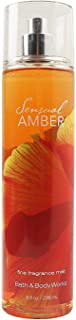 Bath & Body Works Body Mist Sensual Amber 236ml