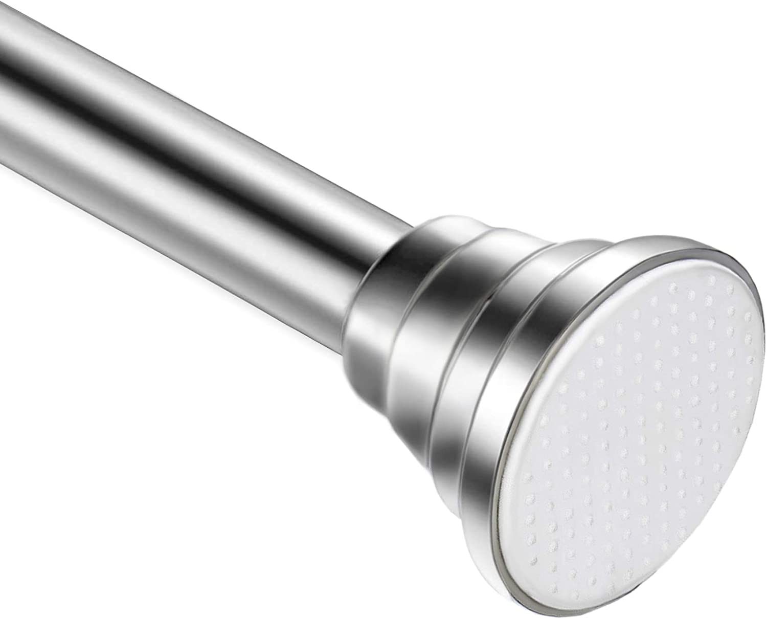 Shower Curtain Rod Outstanding 43-82 inch Stainless Japan Maker New Steel Adjustable Spring
