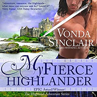 My Fierce Highlander audiobook cover art