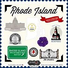 Rhode Island Sightseeing Scrapbook Stickers (60341)