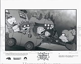 Historic Images - 1998 Press Photo Lil, Phil, Chuckie, Tommy and Dil in The Rugrats Movie