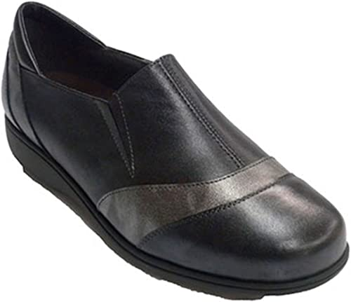 Zapato damen con Gomas a los Lados Doctor Cutillas en schwarz