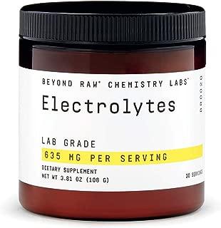 Beyond Raw Chemistry Labs Electrolytes, 30 Servings