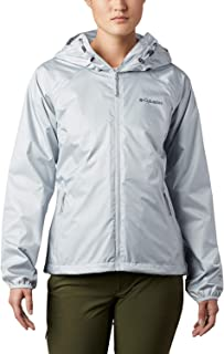 Columbia Ulica Chaqueta Impermeable, Mujer