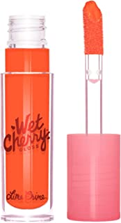 Lime Crime Wet Cherry Lip Gloss, Tangy Cherry - Blazing Orange - High Shine, Non-Sticky Gloss - Cherry Scent - Lightweight...