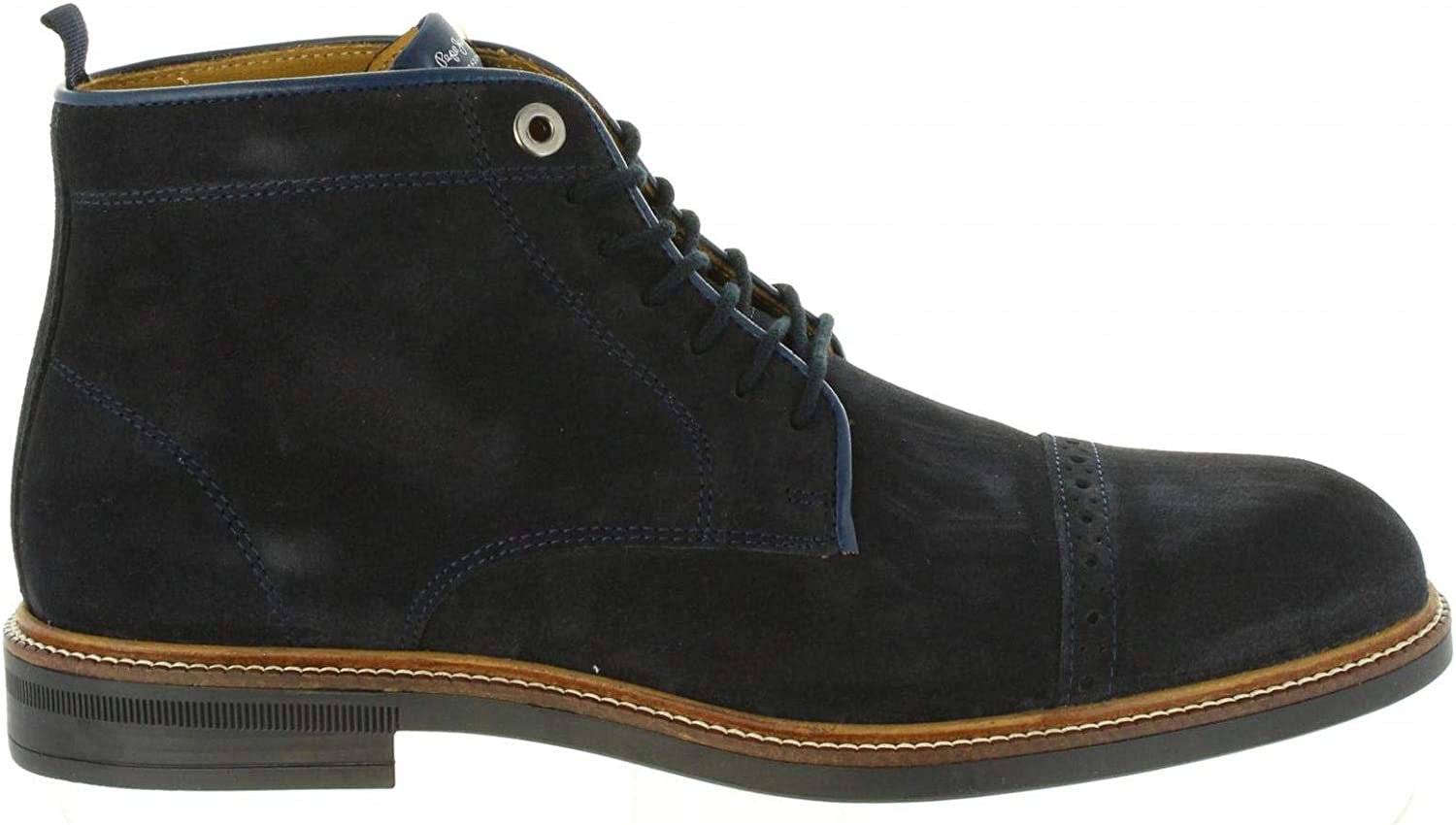 9bfc989bf0338 Pepe Jeans Men Mid Boots 595 Navy PMS50169 Axel nozuxg2343-New Shoes ...