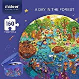 Andreu Toys-A Day IN The Forest Puzzle, Color (Multicolor) (MD3075)