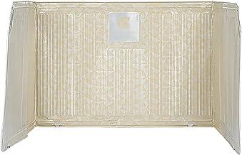 Kitchen Anti Foil Splash Boad,Folding Insulation Oil Board,Kitchen Oil Baffle Oil-proof Anti-Splashing Baffle Easy to Clea...