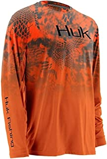 HUK Men's Kryptek Fade Icon Long-Sleeve Tee