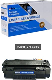 Inksters Compatible Toner Cartridge Replacement for HP 49A (Q5949A) - Compatible with Laserjet 116013201320N1320NW1320TN33903392