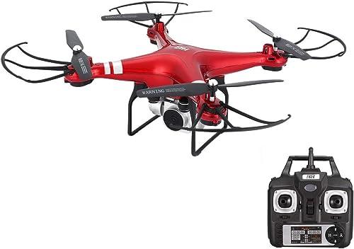 Las ventas en línea ahorran un 70%. WOSOSYEYO SH5HD SH5HD SH5HD 2.4G FPV Drone RC Quadcopter con 1080P Ajustable de Gran Angular WiFi Cámara HD Altitud de Video en Vivo Mantenga Modo sin Cabeza (rojo)  ventas en línea de venta