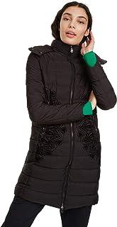 Desigual Coat Mandala Abrigo para Mujer