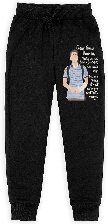 Dear Evan Hansen Sweatpants Kids Sport Slacks Athletic FUUNY Pants for Boys Girls