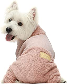 Fitwarm Turtleneck Knitted Dog Clothes Winter Outfits Pet Jumpsuits Cat Sweaters