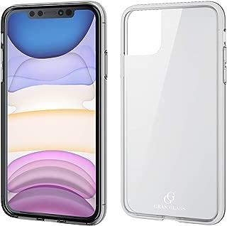 エレコム iPhone 11 ケース ハイブリッド [ガラスとソフト素材の2種構造で本体を保護] 美しいリアルガラス採用 CLEAR COLOR クリア PM-A19CHVCG1CR