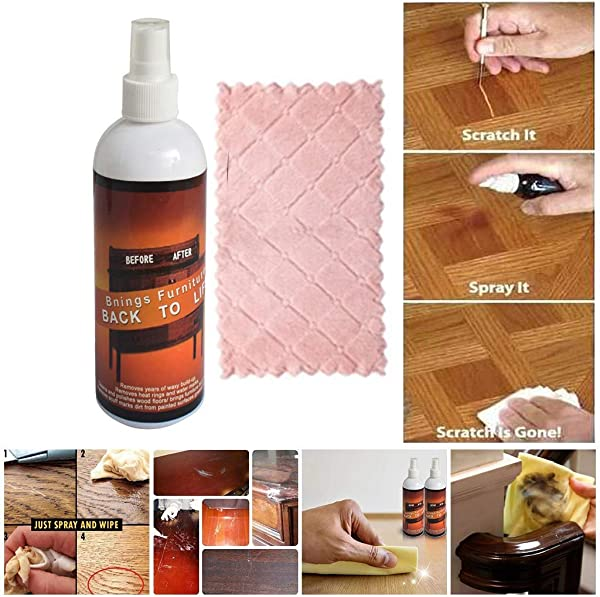 Simplylin Invisible Scratch Wood Spray Remover Repair Paint For Wooden Table Floor