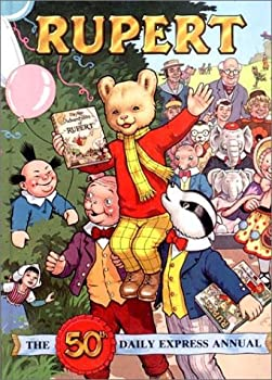 Hardcover Rupert: The 50th Daily Express Annual (1985) Book