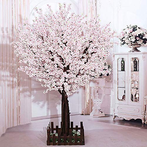 J Beauty White Artificial Cherry Blossom Tree Artificial Plant For Wedding Event Indoor Outdoor Party Restaurant Mall Silk Flower 6ft T Buy Online In Aruba At Aruba Desertcart Com Productid 138864960