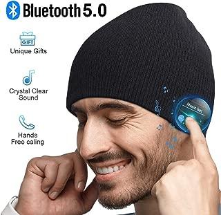 Gorro Bluetooth Regalos Originales Hombre - Bluetooth Gorro Invierno Hombre, Lavable Gorro Beanie Bluetooth 5.0, Hombre Mujer, Gorro Deportivo con Bluetooth Auriculares