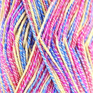 Super Fine Weight Soft and Slim Yarn Color 991 Cotton Candy - BambooMN - 2 Skeins