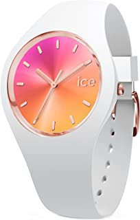 Ice-watch sunset california reloj para Mujer Analógico de Cuarzo japonés con brazalete de Silicona IC015750