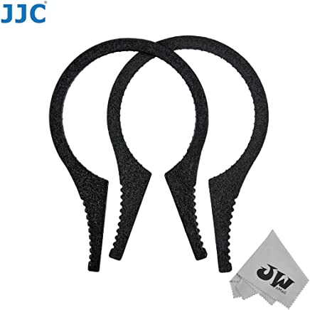 67-86mm in Diameter for Filters 46-62mm 2 Pieces JW Black Ridged Interior Camera Lens Filter Wrench Kit