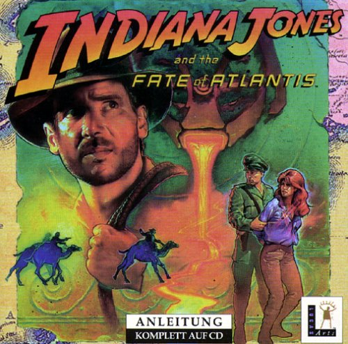 Indiana Jones and the Fate of Atlantis [Edizione: Germania]