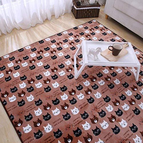 Chambre épaisée Tapis de Chevet Séjour Table Basse Tapis adapté aux couvertures Douces, 3 120 x 150cm