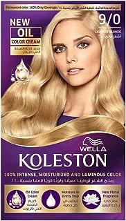 Wella Koleston Permanent Hair Color Kit 9/0 Lightest Blonde