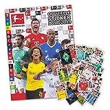 Fußball Bundesliga Saison 2018/19 - Komplettset alle 294 Sticker + Sammelalbum